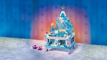 Elsa's Jewelry Box Creation