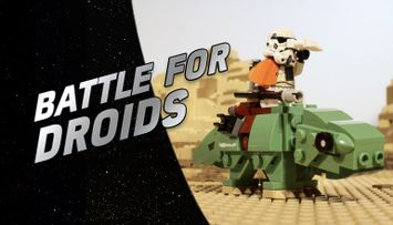 The One when R2-D2 and C-3PO Land Somewhere Else - LEGO® Star Wars