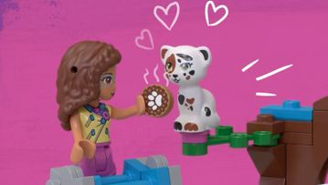 Olivia's Mission Vehicle 41333 –LEGO® Friends – Product animation