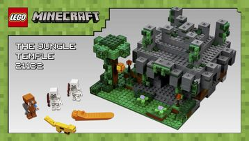 LEGO® Minecraft – Skin Pack 853610 – Model Presentation (English Version)