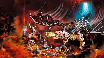71721 - Skull Sorcerer's Dragon