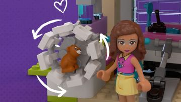 Vriendschapshuis 41340 – LEGO® Friends – Productanimatie