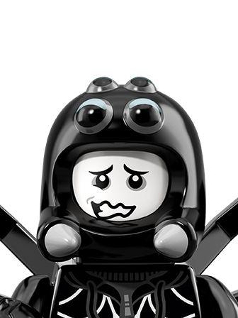 LEGO Minifigures Guy in Spider Costume portrait