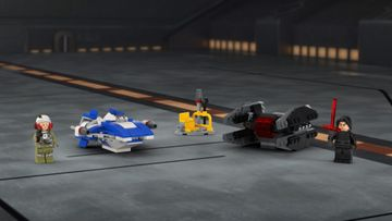 75196 A Wing vs TIE Silencer Microfighters