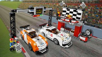 LEGO® Speed Champions 75912 Porsche 911 GT Finish Line