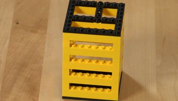 Building Tip Pencil Organiser