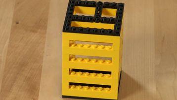 Consejo de construcción: organizador de lápices