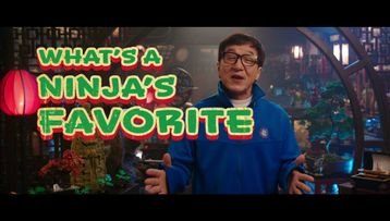 Jackie Chan: The LEGO NINJAGO MOVIE Jokes – Color