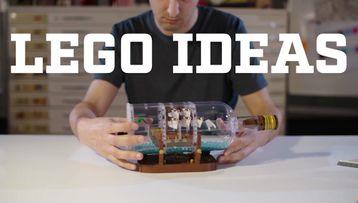 Ship in a Bottle LEGO® Designer video - LEGO Ideas - 21313