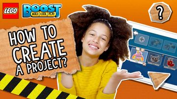 How To Create a New Project in LEGO BOOST