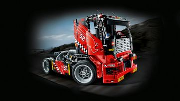Гоночный грузовик