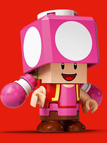 The friendly Toadette!
