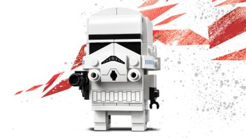 LEGO Brickheadz - 41620 Stormtrooper - Build your own Stormtrooper as the one in the movie Star Wars: Episode V The Empire Strikes Back.