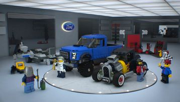 Ford F-150 Raptor & Ford Model A Hot Rod