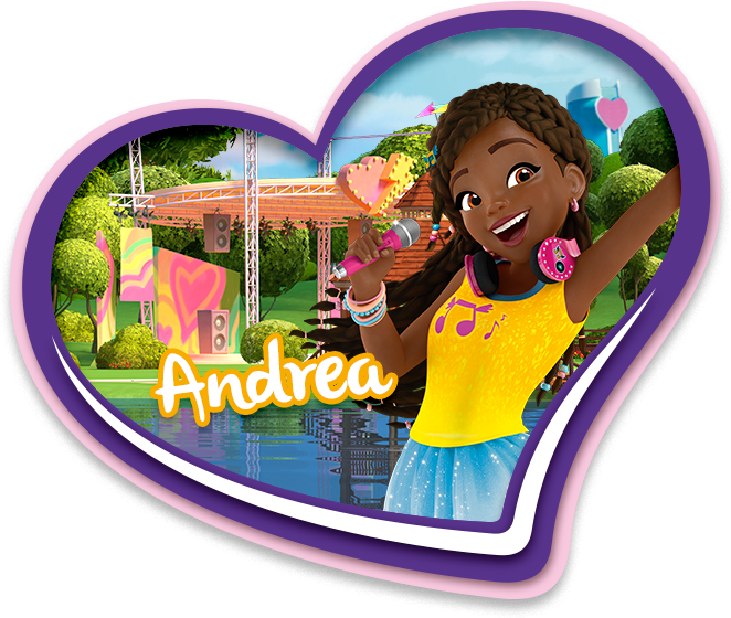 LEGO Friends Meet The Girls: Andrea from Heartlake City